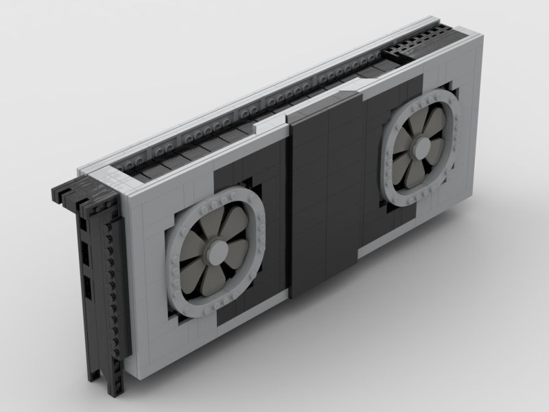 Nvidia GeForce RTX 2080 Ti Founders Edition LEGO