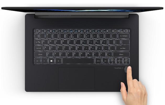 Acer TravelMate X5 klawiatura