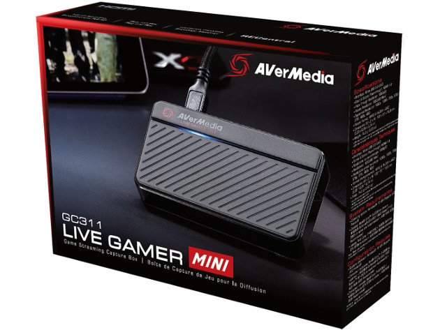 AVerMedia Live Gamer Mini GC311 pudełko