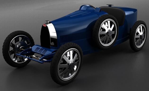 Bugatti Baby wygląd