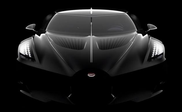Bugatti La Voiture Noire przód