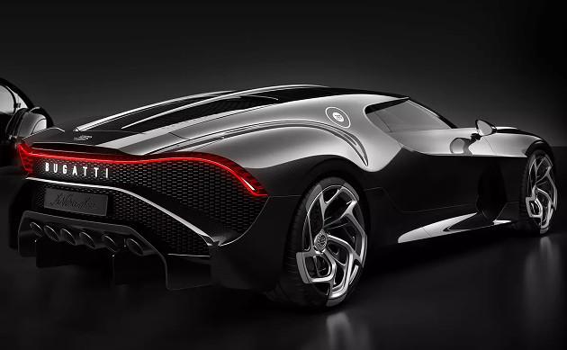 Bugatti La Voiture Noire tył