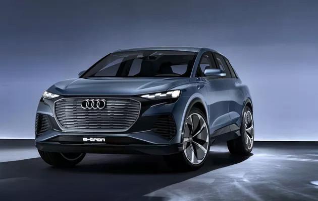 Audi Q4 E-tron przód