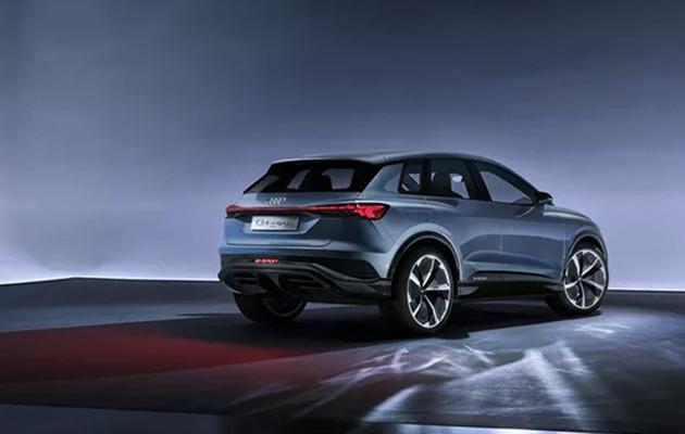 Audi Q4 E-tron tył