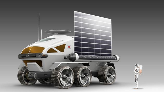 Pressurized Rover solar