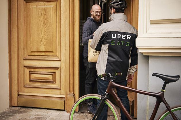Uber Eats dostawa