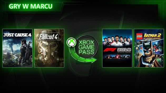 Xbox Game Pass marzec