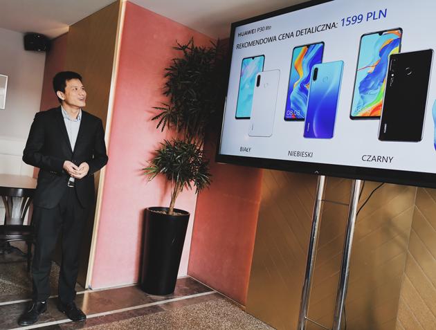 Huawei P30 Lite cena