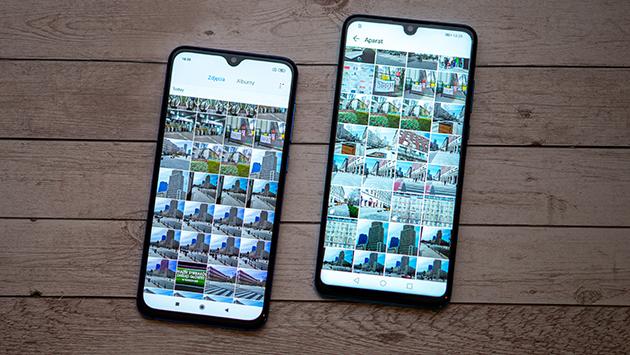 Xiaomi i Huawei zdjęcia
