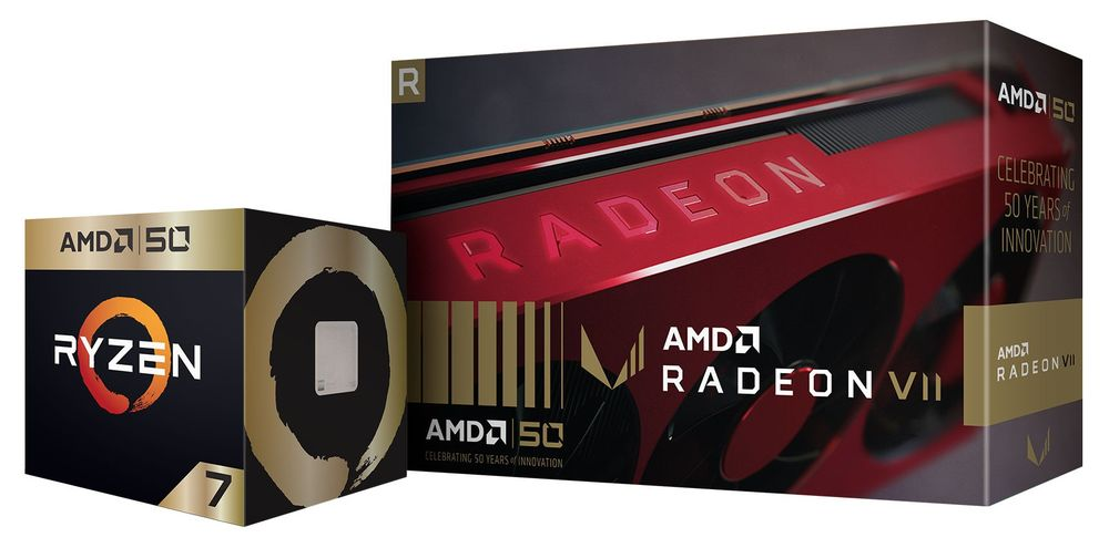 AMD Ryzen 7 2700X i Radeon VII Gold Edition