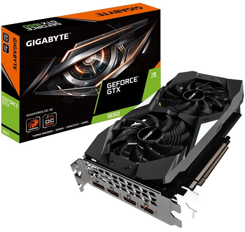 GeForce GTX 1650 WindForce OC 4G