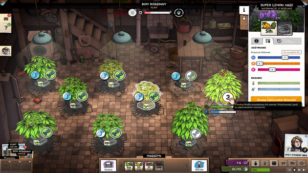Weedcraft Inc - uprawy