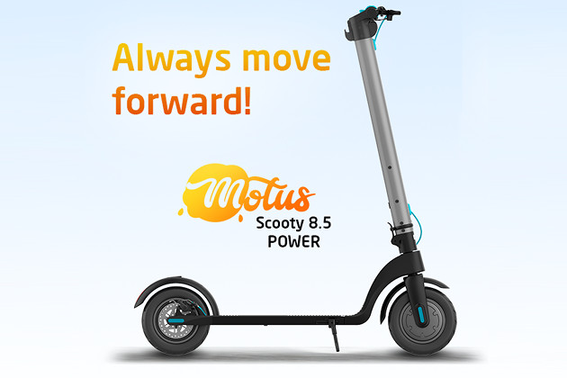 Motus Scooty 8.5 Power hulajnoga