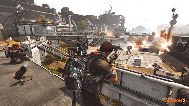 Tom Clancy's The Division 2 Tidal Basin screen