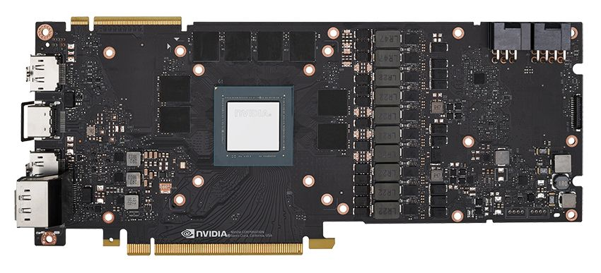 Nvidia GeForce RTX 2080 PCB