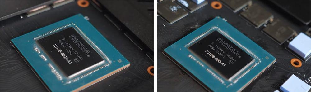 Nvidia Turing TU106-400A-A1 i TU106-400-A1