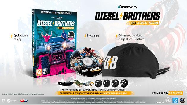 Discovery: Diesel Brothers pudełko