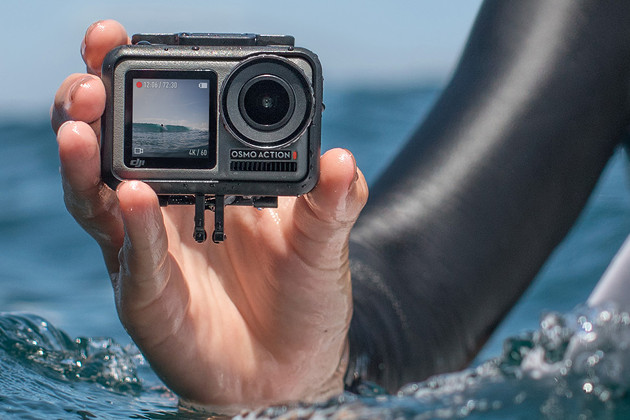 DJI Osmo Action Camera przód