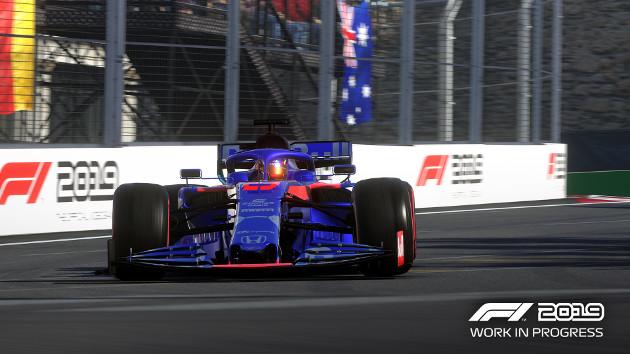 F1 2019 screen