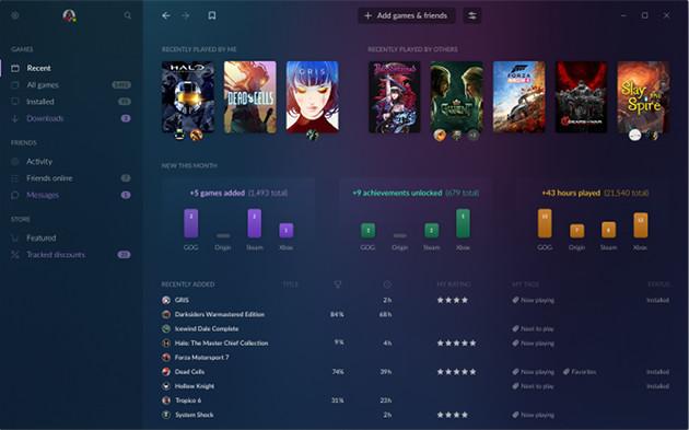 GOG Galaxy 2.0 aplikacja