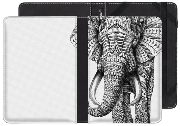 Kindle etui Ornate Elephant