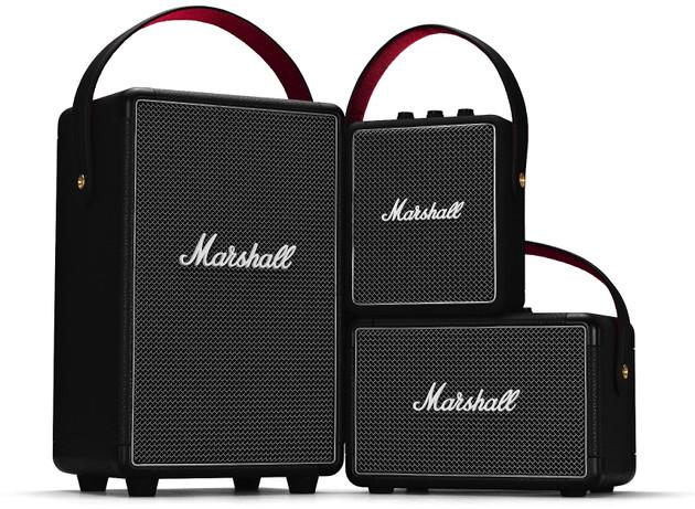 Marshall głośniki rodzina