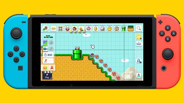 Super Mario Maker 2 screen
