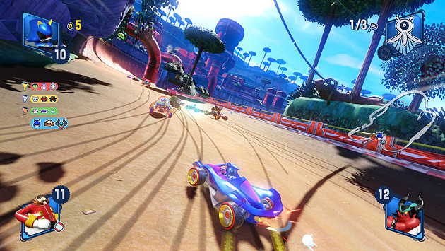Team Sonic Racing screen 1
