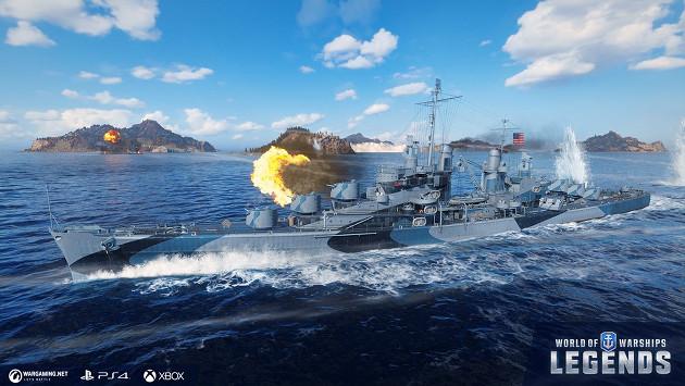 World of Warships: Legends screen