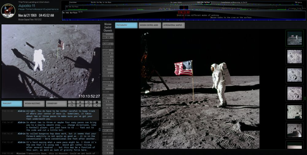 Apollo 11 in Real Time