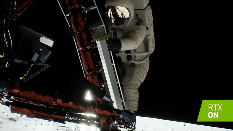 Apollo 11 - demo technolobiczne Nvidia RTX