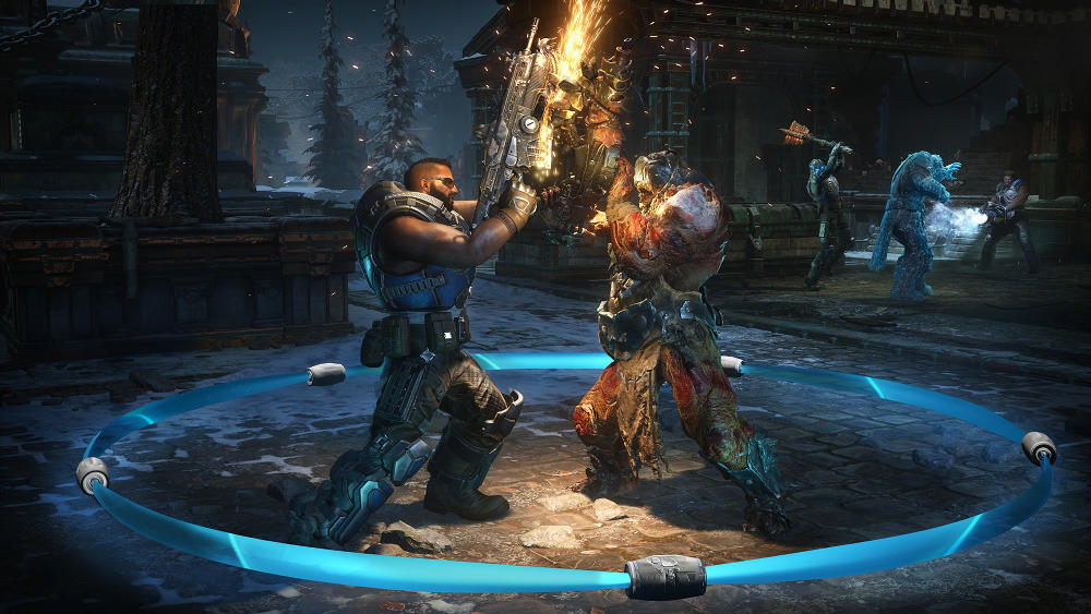 Gears 5 screen