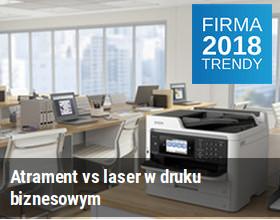 Atrament vs laser w druku biznesowym
