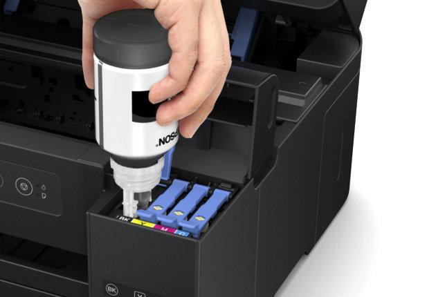 tankowanie drukarki - Epson EcoTank