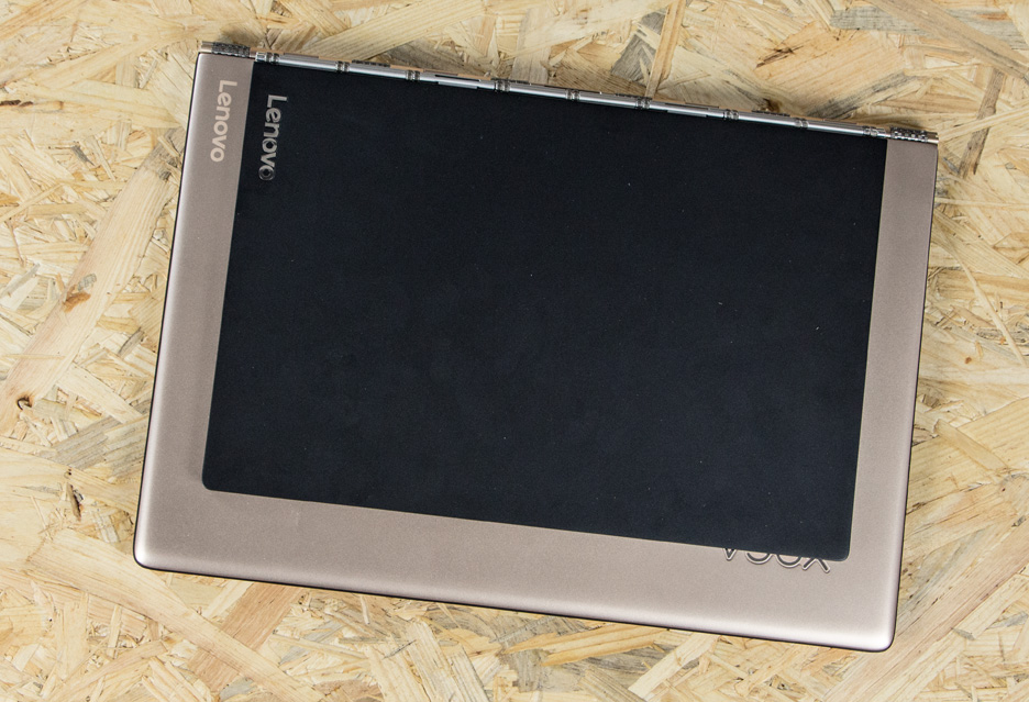 Lenovo Yoga Book i Lenovo Yoga 900s porównanie wielkości