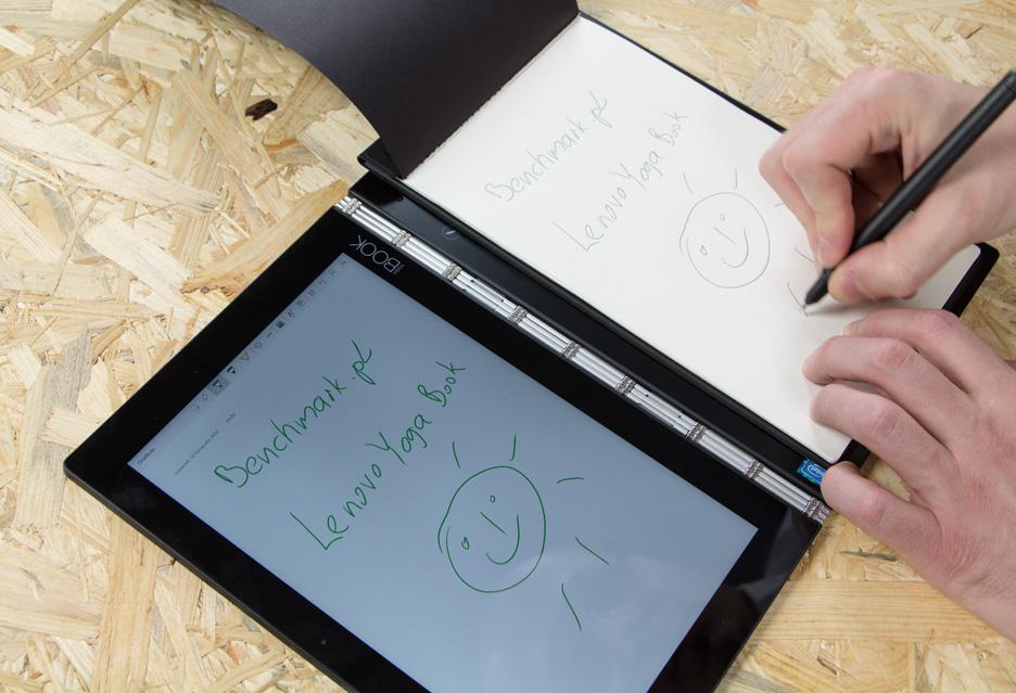 Lenovo Yoga Book pisanie odręczne