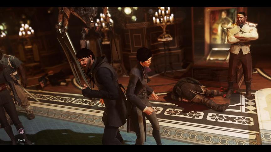 Dishonored 2 - wybór jednego z dwóch bohaterów gry