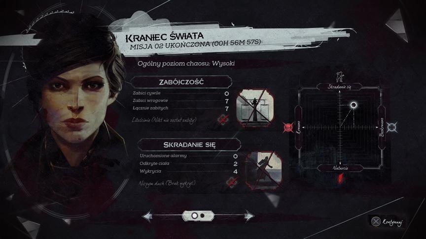 Dishonored 2 - podsumowanie misji