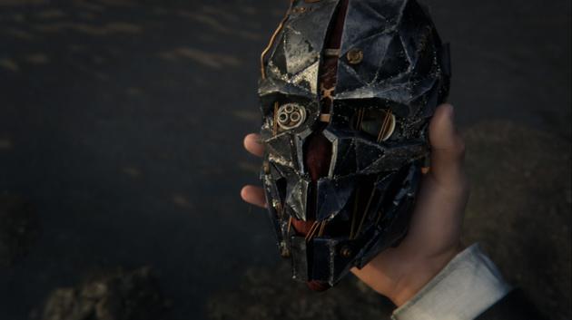 Dishonored 2 - maska corvo