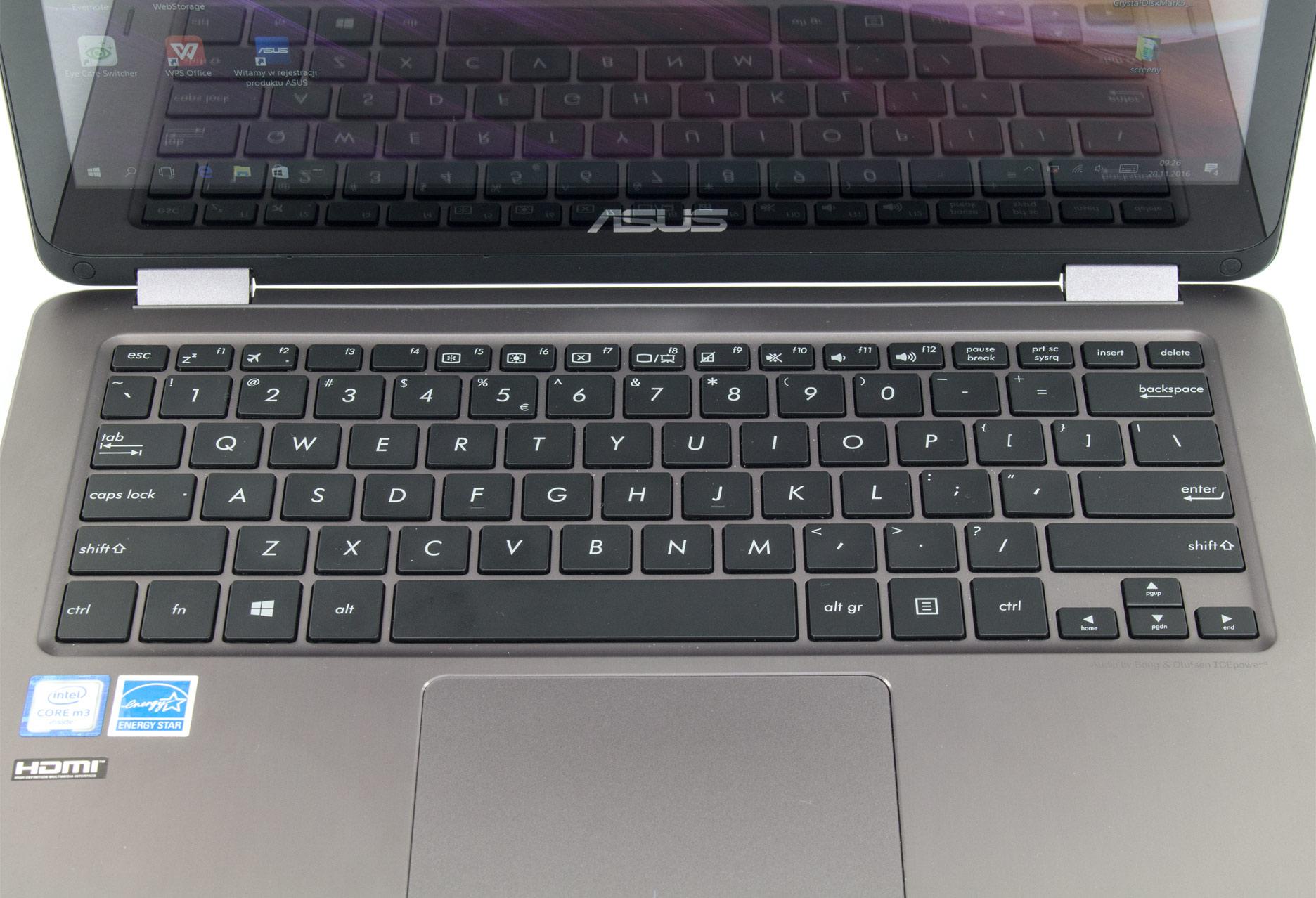Asus Zenbook Flip UX360CA klawiatura