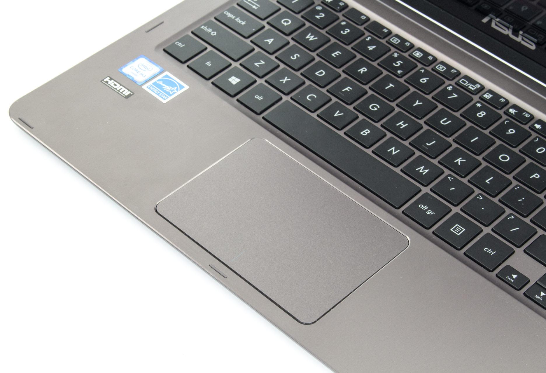 Asus Zenbook Flip UX360CA touchpad