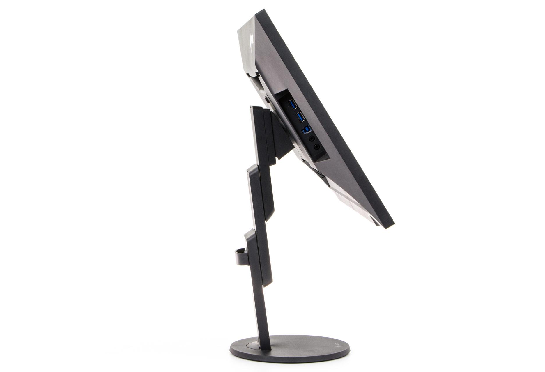 Eizo FlexScan EV2456 maksymalna wysokość, maksymalne odchylenie