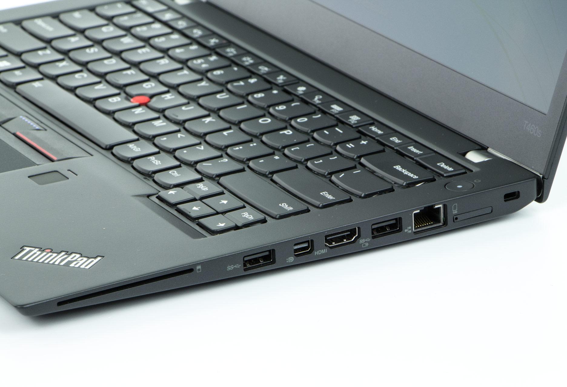 Lenovo ThinkPad T460s prawy bok