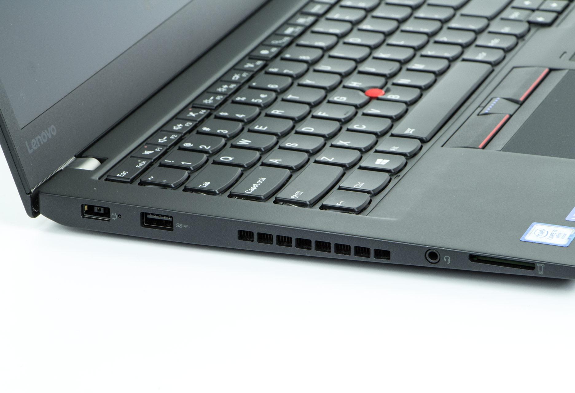 Lenovo ThinkPad T460s lewy bok
