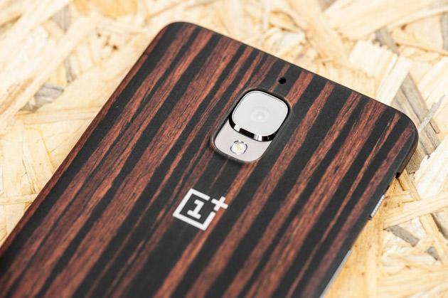 OnePlus 3T - drewniane, hebanowe plecki ochronne