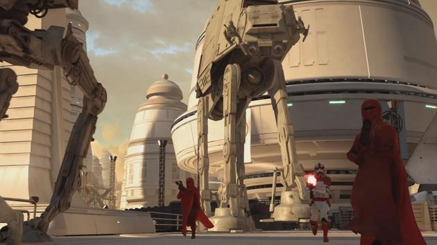 Star Wars: Battlefront - korytarzowość lokacji