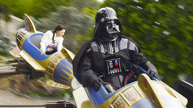 Gwiezdne Wojny - w Disneyland