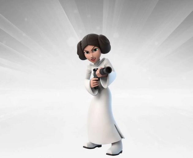 Gwiezdne Wojny - Leia z Disney Inifinity