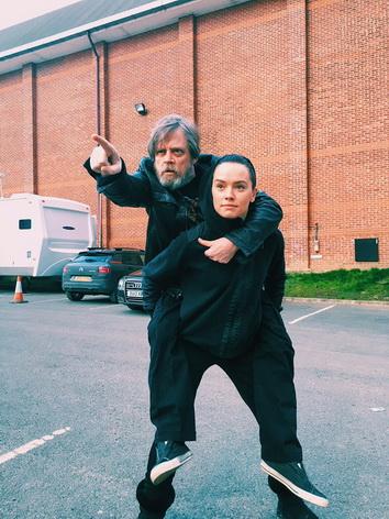 Gwiezdne Wojny - Luke i Ray