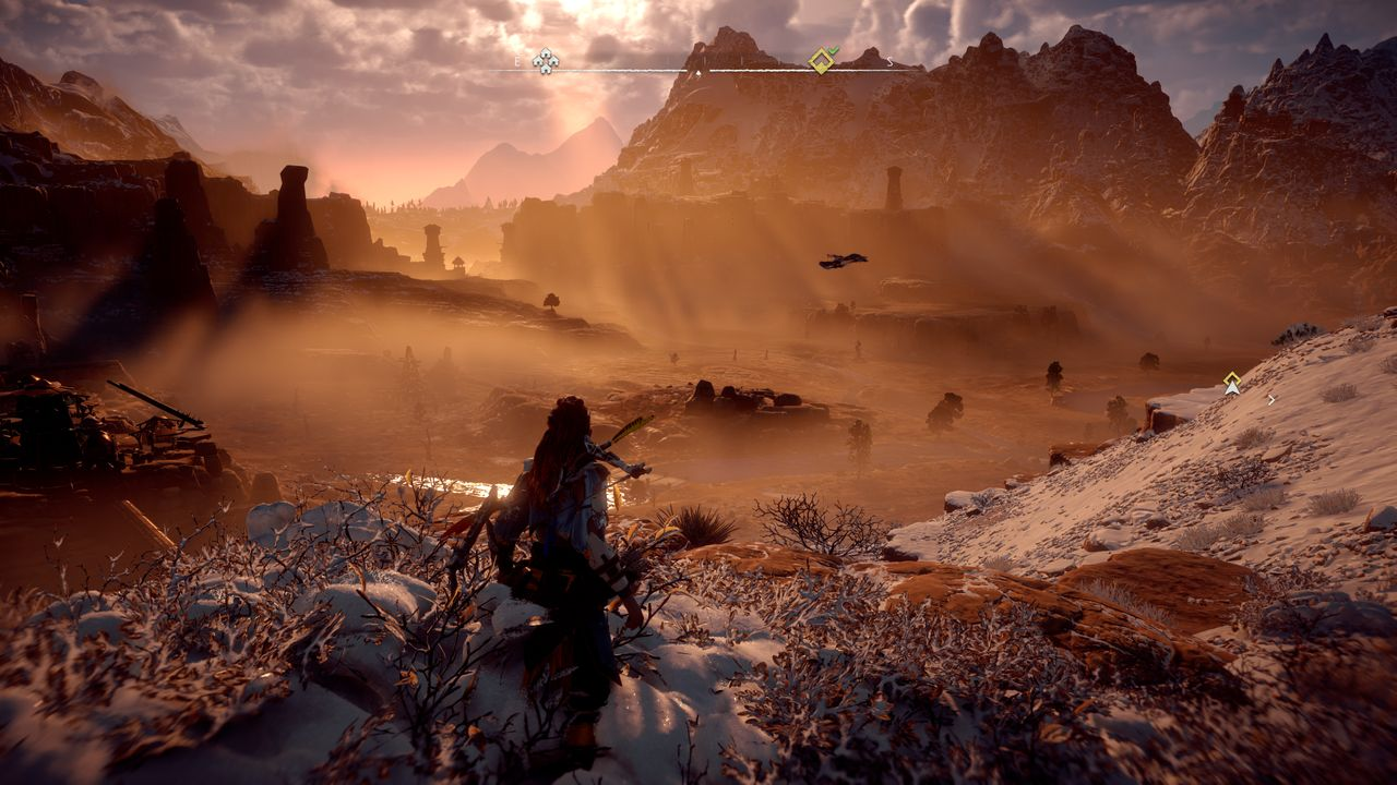 Horizon Zero Dawn na Playstation 4 Pro